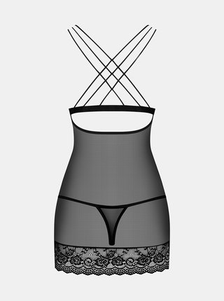 Romantická košilka 854 - CHE - Obsessive černá