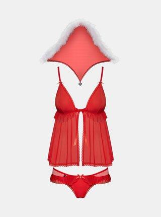 Vánoční kostým 851 - CST - Obsessive červená