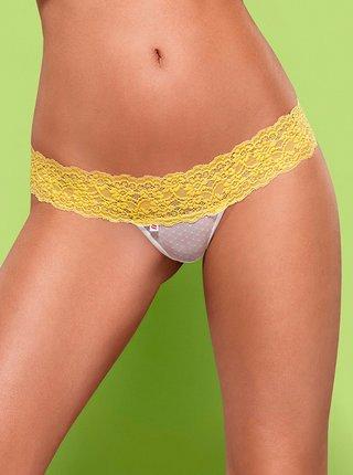 Kalhotky a tanga Lacea shorties a thong duo pack - Obsessive zelená