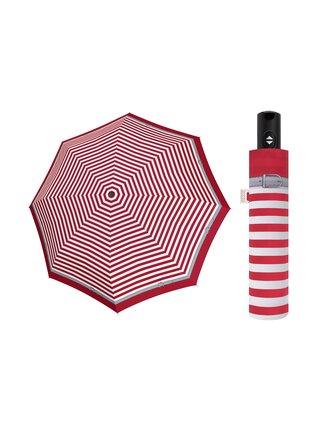 Doppler Magic Carbonsteel Delight plně automatický deštník - Červená