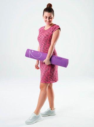 Ružové žíhané šaty LOAP