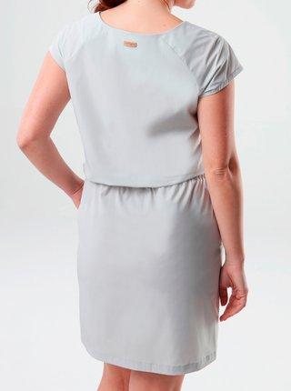 Svetlošedé šaty s vreckami LOAP