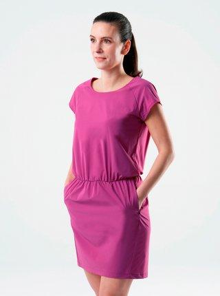 Fialové šaty s kapsami LOAP