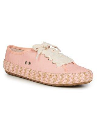 Světle růžové tenisky EMU Australia Agonis Mix Pale Pink