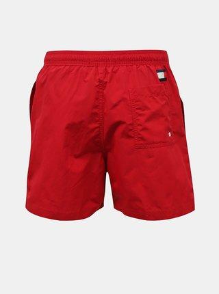 Tommy Hilfiger červené pánské plavky Medium Drawstring
