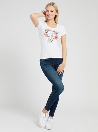 Guess biele tričko Rebeca Tee