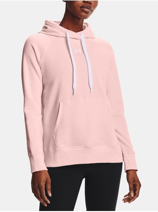 Mikina Under Armour Rival Fleece HB Hoodie - Růžová