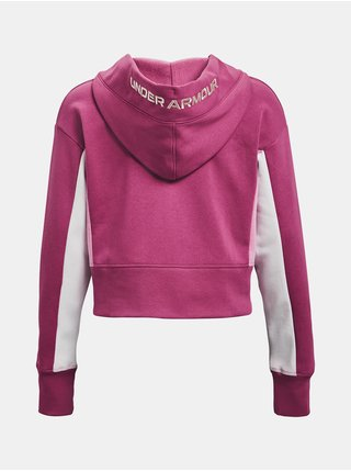 Mikina Under Armour Rival Fleece EMB Hoodie - Růžová