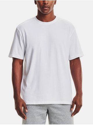 Tričko Under Armour BASELINE ESSENTIAL TEE - Bílá