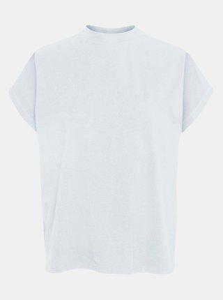 Bílé volné tričko se stojáčkem Noisy May Hailey