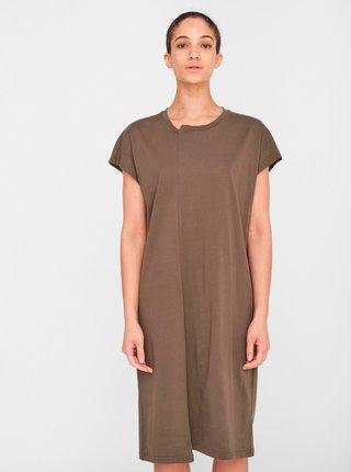 Khaki šaty Noisy May Daphni