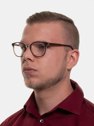 Hnedé pánske obrúčky okuliar GANT