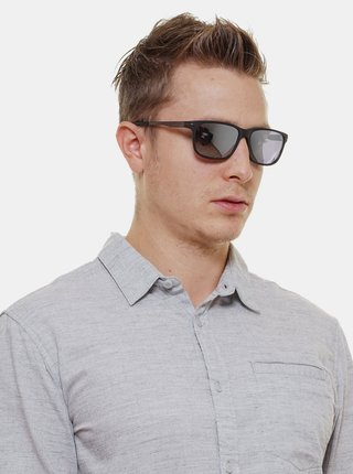 Šedo-černé pánské sluneční brýle GANT