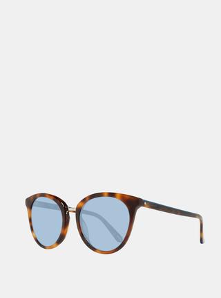 Hnědé dámské vzorované sluneční brýle GANT