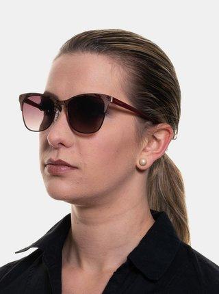 Vínové dámske vzorované slnečné okuliare Guess by Marciano