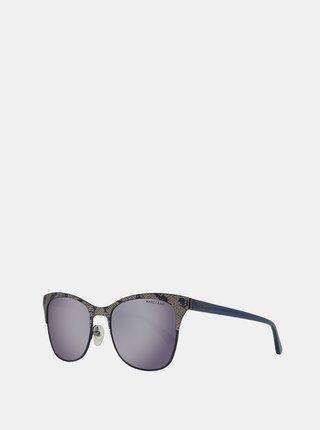 Tmavě modré dámské vzorované sluneční brýle Guess by Marciano