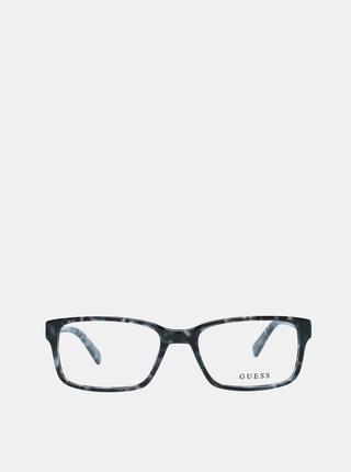 Modro-šedé pánské vzorované obroučky brýlí Guess