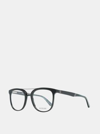 Modro-čierne pánske okuliarové obrúčky Guess