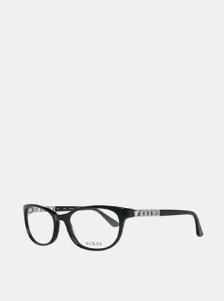 Čierne dámske okuliarové obrúčky Guess