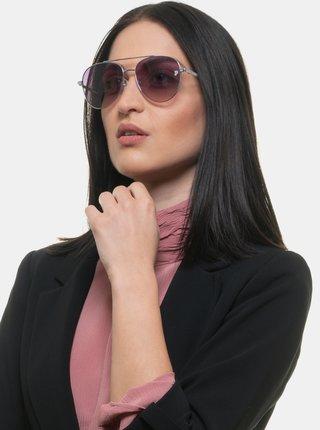 Dámské sluneční brýle ve fialovo-stříbrné barvě Victoria's Secret