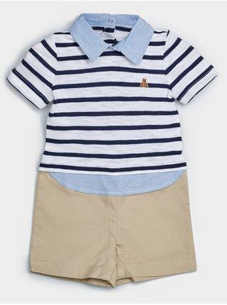 Baby overal intl 3n1 shrty Modrá
