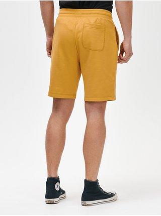 Kraťasy GAP Logo mini arch shorts Žltá
