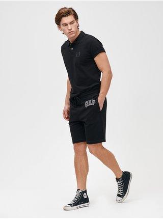 Černé pánské kraťasy GAP Logo mini arch shorts