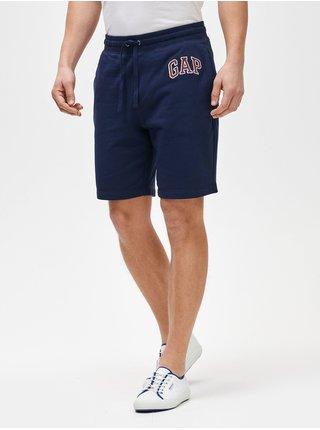 Modré pánské kraťasy GAP Logo mini arch shorts