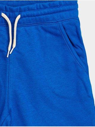 Detské kraťasy GAP Logo franch shorts Modrá