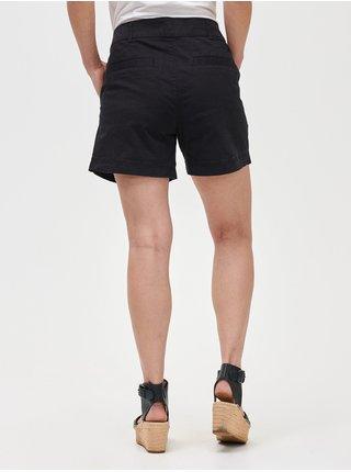 Černé dámské kraťasy 5 mid rise khaki shorts