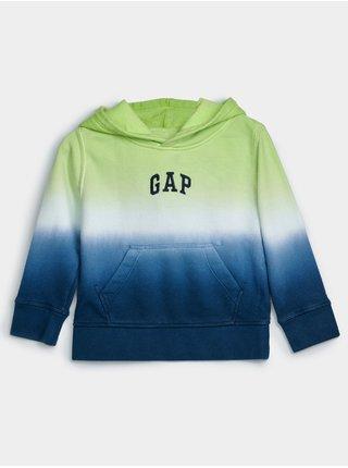 Barevná klučičí dětská mikina GAP Logo dip dye