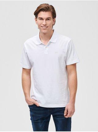 Polo tričko GAP Logo jersey Biela