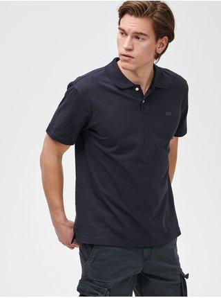 Polo tričko GAP Logo jersey Modrá
