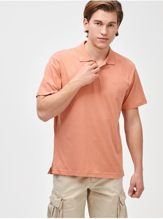 Polo tričko GAP Logo jersey Oranžová