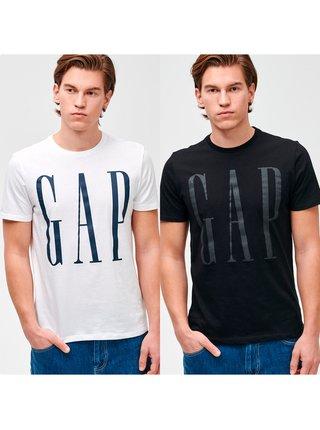 Tričko GAP Logo v-corp, 2ks Biela