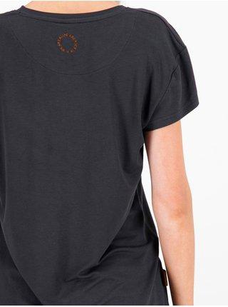 Alife and Kickin MimmyAK A black dámské triko s krátkým rukávem - černá
