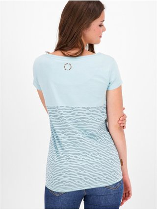 Alife and Kickin ClariceAK ice dámské triko s krátkým rukávem - modrá