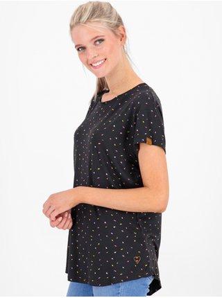 Alife and Kickin MimmyAK B MOONLESS dámské triko s krátkým rukávem - černá