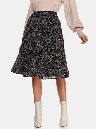 Černá vzorovaná sukně TOP SECRET