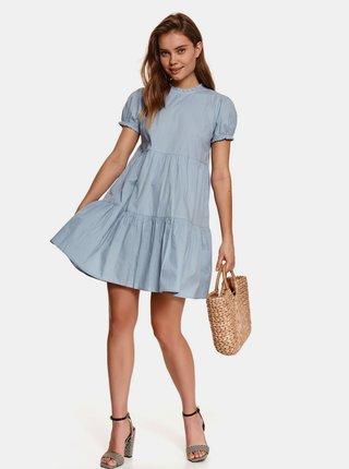 Světle modré volné šaty TOP SECRET