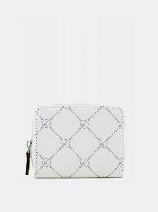 Bílá vzorovaná peněženka Tamaris