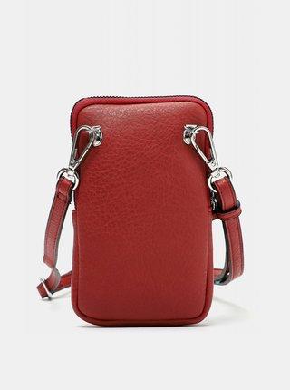 Červená malá crossbody kabelka/púzdro na telefón Tamaris