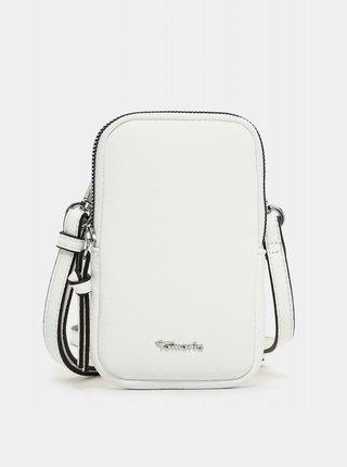 Bílá malá crossbody kabelka/pouzdro na telefon Tamaris