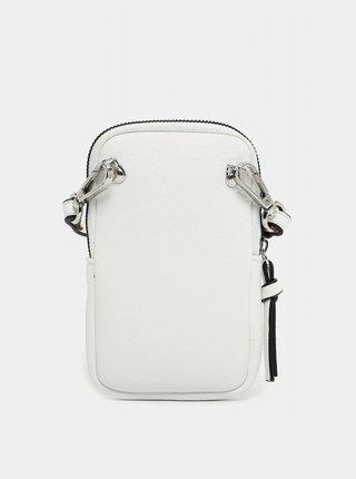 Biela malá crossbody kabelka/púzdro na telefón Tamaris