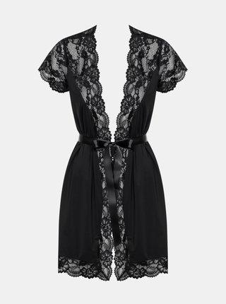 Elegantní župan 810 - PEI black XXL - Obsessive černá