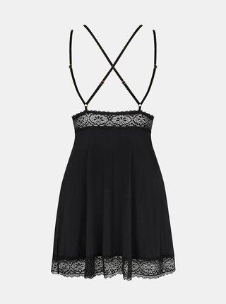 Krásná košilka Lolitte babydoll XXL - Obsessive černá