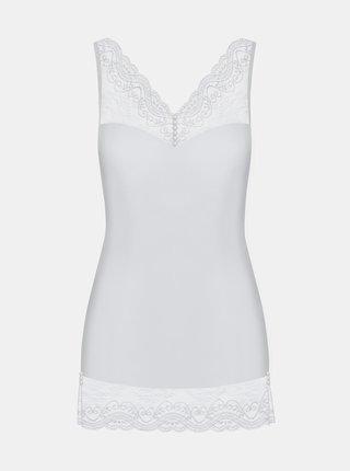 Elegantní košilka Miamor chemise white - Obsessive bílá
