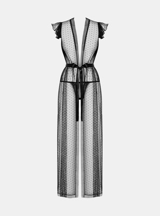 Elegantní župan 876 - PEI - Obsessive černá