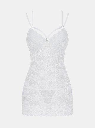 Svůdná košilka 860 - CHE white - Obsessive bílá