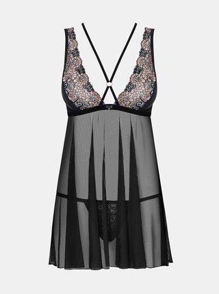 Krásná košilka 873 - BAB - Obsessive černá
